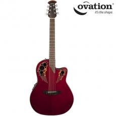 Ovation Celebrity Elite Ruby Red CE44-RR