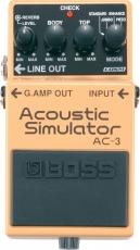 Πετάλι BOSS AC-3 Acoustic Simulator