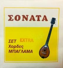 Σονάτα Extra χορδές μπαγλαμά